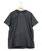 alk phenix(アルクフェニックス)の古着「デクニカルカットソー」|ブラック