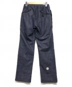 alk phenix(アルクフェニックス)の古着「dou pants」|インディゴ