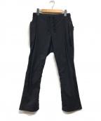 alk phenix(アルクフェニックス)の古着「軽量撥水ストレッチスリムイージーパンツ」|ブラック