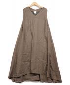 ()の古着「N/Sフレアワンピース」|ブラウン