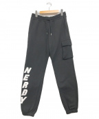 NERDY(ノルディ)の古着「brushed jogger pants」 ブラック