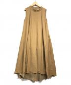Sybilla(シビラ)の古着「N/Sワンピース」 ブラウン