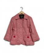 SONIA RYKIEL(ソニア リキエル)の古着「レトロジャケット」|レッド