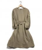 Lois CRAYON(ロイスクレヨン)の古着「ブラウスワンピース」|ベージュ