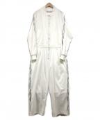 MUZE(ミューズ)の古着「ジャンプスーツ」 ホワイト
