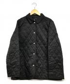 BURBERRY LONDON()の古着「キルティングジャケット」|ブラック