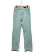 UNTITLED(アンタイトル)の古着「洗えるストレッチスキニーパンツ」|ライトグリーン
