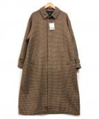 HARE()の古着「ステンカラーコート」|ブラウン