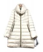 RAFFINATA(ラフィナータ)の古着「フーデッドダウンコート」|アイボリー