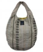 mina perhonen(ミナ ペルホネン)の古着「エッグバッグ」|グレー