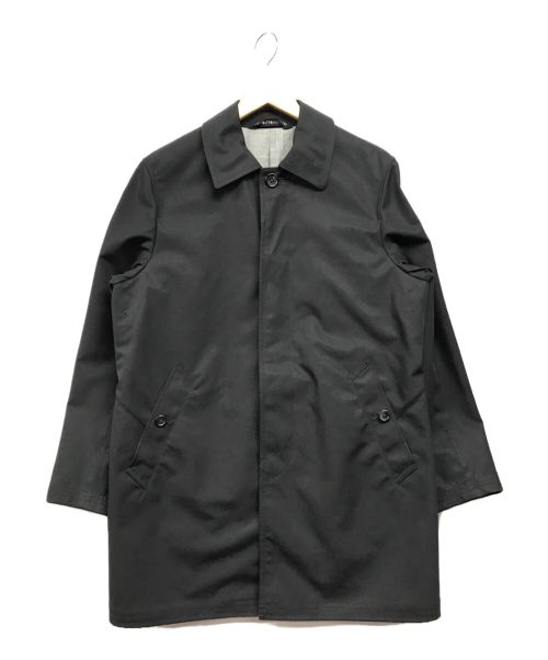 TOMORROW LAND(トゥモローランド)TOMORROW LAND (トゥモローランド) ステンカラーコート ブラック サイズ:Mの古着・服飾アイテム