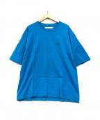 MUZE(ミューズ)の古着「バックプリントTシャツ」 ブルー