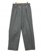 nanamica(ナナミカ)の古着「タックパンツ」|グレー
