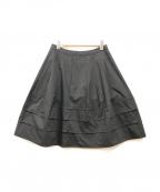 TO BE CHIC(トゥービーチック)の古着「ミニスカート」|ブラック