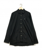 Christian Dior MONSIEUR(クリスチャンディオールムッシュ)の古着「ドレスシャツ」|ブラック