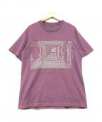 C.E(シーイー)の古着「プリントTシャツ」|パープル