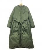 45R(フォーティファイブアール)の古着「ロングダウンコート」|カーキ