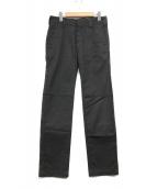 ()の古着「ステッチパンツ」 ブラック