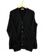 GRAN SASSO(グランサッソ)の古着「Vネックカーディガン」|ブラック