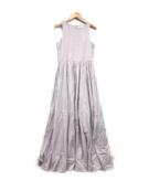 MARIHA(マリハ)の古着「夏のレディのドレス」|ペールラベンダー