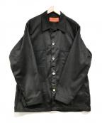 UNIVERSAL OVERALL(ユニバーサルオーバーオール)の古着「カバーオール」 ブラック