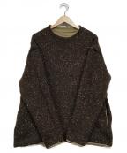 EEL(イール)の古着「Cosmos Knit」 ブラウン