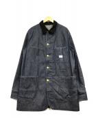 ()の古着「デニムカバーオール」 インディゴ