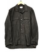 ()の古着「オープンカラーシャツ」|ブラウン