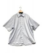 ()の古着「バックボタンシャツ」 スカイブルー