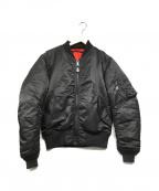AVIREX(アヴィレックス)の古着「MA-1 COMMERCIAL」|ブラック