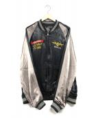()の古着「SUKA JACKET MIRAMAR」 ブラック×ブラウン