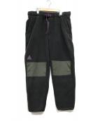 ()の古着「SHERPA FLEECE PANTS」 ブラック