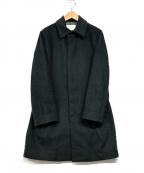 EDIFICE(エディフィス)の古着「ステンカラーコート」 グリーン