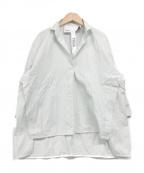 ticca(ティッカ)の古着「スキッパーシャツ」 グリーン