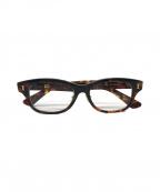 金子眼鏡(カネコメガネ)の古着「celluloid」|ブラウン