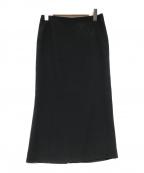 MUSE de Deuxieme Classe(ミューズ ドゥーズィエム クラス)の古着「タイトスカート」|ブラック