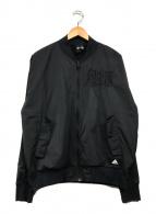()の古着「ボンバージャケット」|ブラック