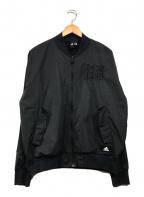 adidas(アディダス)の古着「ボンバージャケット」 ブラック