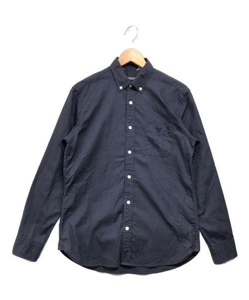 BLACK LABEL CRESTBRIDGE(ブラックレーベルクレストブリッジ)BLACK LABEL CRESTBRIDGE (ブラックレーベルクレストブリッジ) ボタンダウンシャツ ネイビー サイズ:Mの古着・服飾アイテム