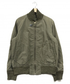 NIGEL CABOURN(ナイジェルケーボン)の古着「フライトジャケット」|カーキ
