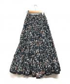 MARIHA(マリハ)の古着「草原の虹のスカート」 ブラック