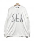 WIND AND SEA(ウィンダンシー)の古着「ロングスリーブカットソー」|ホワイト