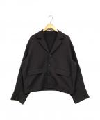 URU(ウル)の古着「テーラードジャケット」|ボルドー