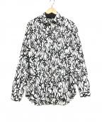 Dior(ディオール)の古着「トライバルシャツ」 ブラック