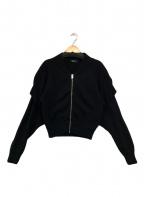 DIESEL()の古着「ニットジャケット」|ブラック