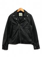 FREAK'S STORE(フリークスストア)の古着「ゴートレザージャケット」 ブラック
