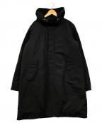 nano・universe(ナノユニバース)の古着「中綿モッズコート」|ブラック