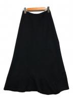 tricot COMME des GARCONS(トリココムデギャルソン)の古着「切替ニットスカート」 ブラック