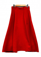 IENA(イエナ)の古着「TAボンディングスカート」|レッド