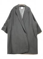 ()の古着「トッパーコート」 ブラック